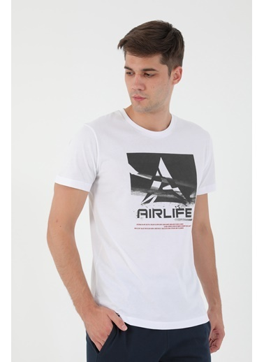 Airlife Tişört Beyaz